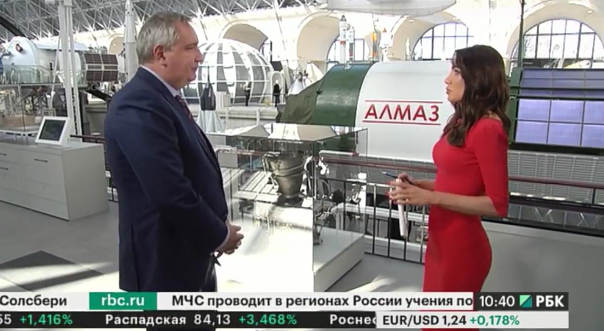 Дмитрий Рогозин — о санкциях и будущем МКС